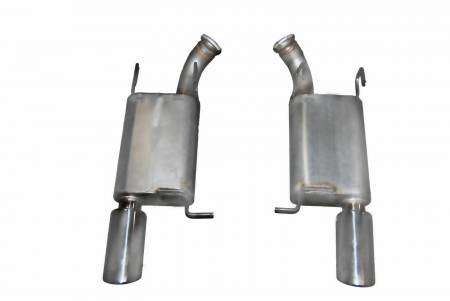 Exhaust System Kit - Axle Back