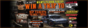 Win A Trip Lucas Oil Off Road