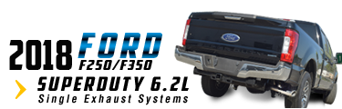 2017 Ford F250/F350 Superduty Single Exhaust System