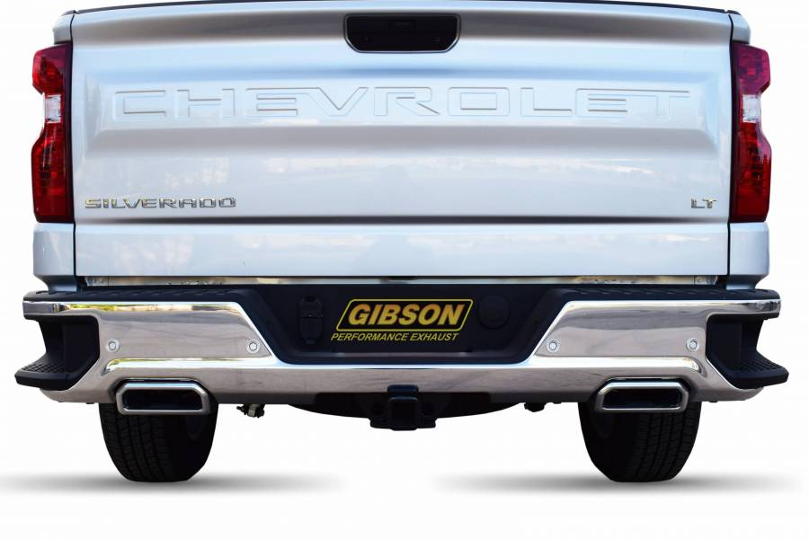 Dual Split Exhaust System, Stainless #65688