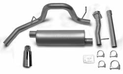 Gibson Performance Exhaust - Cat-Back Single Exhaust System, Stainless #615601