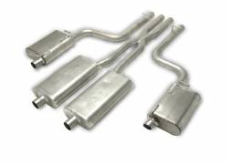 Gibson Performance Exhaust - Cat-Back Dual Exhaust System, Stainless #617008