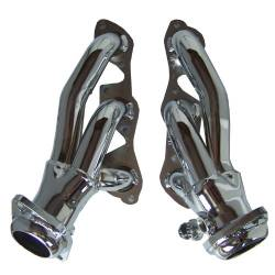 Gibson Performance Exhaust - Performance Header, Chrome Plated #GP214