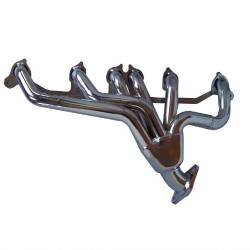 Gibson Performance Exhaust - Performance Header, Chrome Plated #GP400