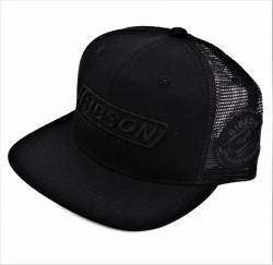 Gibson Performance Exhaust - Gibson Hat, Black Mesh