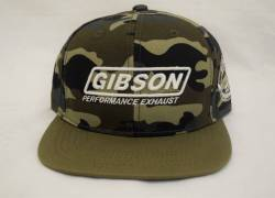 Gibson Performance Exhaust - Gibson Hat, Camo Fitted