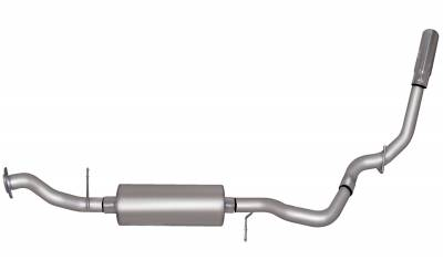 Gibson Performance Exhaust - Single Exhaust System, Aluminized #315526