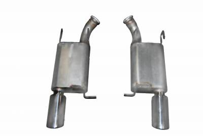 Gibson Performance Exhaust - Axle Back Dual Exhaust System, Aluminized #319010