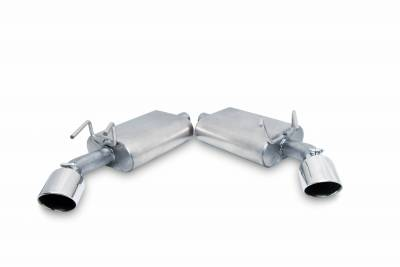 Gibson Performance Exhaust - Axle Back Dual Exhaust System, Aluminized #320001