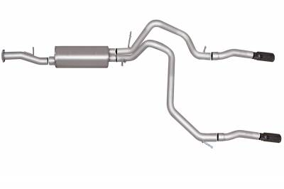 Gibson Performance Exhaust - Dual Split Exhaust System, Aluminized #5569