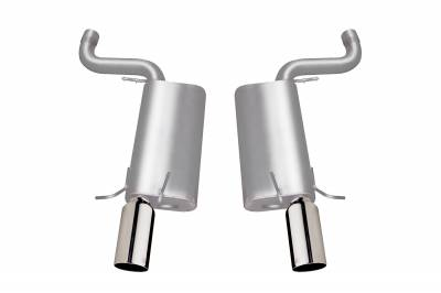 Gibson Performance Exhaust - Axle Back Dual Exhaust,  Stainless, #616000