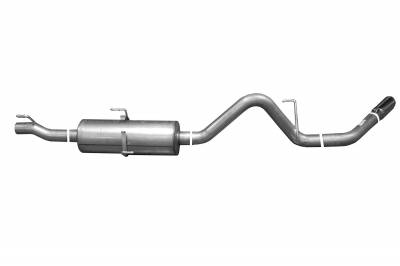 Gibson Performance Exhaust - Single Exhaust  Stainless, #616595