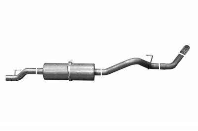 Gibson Performance Exhaust - Single Exhaust System, Stainless #616600