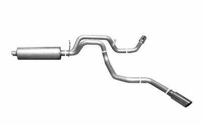Gibson Performance Exhaust - Dual Extreme Exhaust System, Aluminized #6537