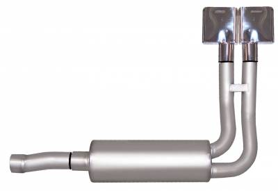Gibson Performance Exhaust - Super Truck Exhaust System, Stainless #65510