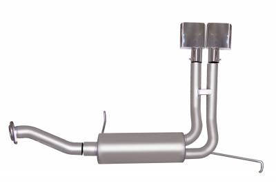 Gibson Performance Exhaust - Super Truck Exhaust,  Stainless, #65515
