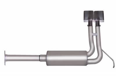 Gibson Performance Exhaust - Super Truck Exhaust,  Stainless, #65517