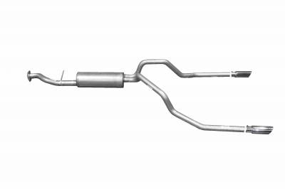 Gibson Performance Exhaust - Dual Split Exhaust  Stainless, #65542