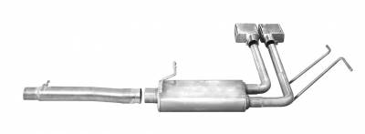 Gibson Performance Exhaust - Super Truck Exhaust System, Stainless #65675