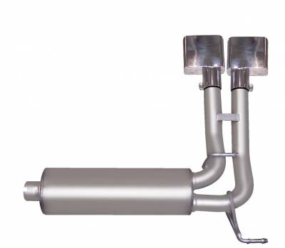Gibson Performance Exhaust - Super Truck Exhaust  Stainless, #66522