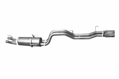 Gibson Performance Exhaust - Dual Sport Exhaust  Stainless, #66604