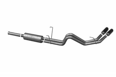 Gibson Performance Exhaust - 03-06 Toyota Tundra 3.4L-4.7L, Dual Sport Exhaust Aluminized, #7100