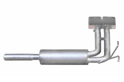Gibson Performance Exhaust - Super Truck Exhaust System, Aluminized #9512