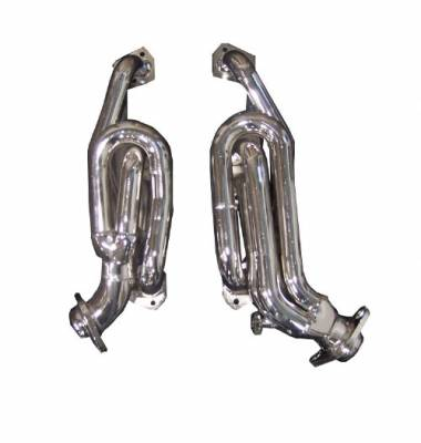 Gibson Performance Exhaust - Performance Header, Chrome Plated #GP300