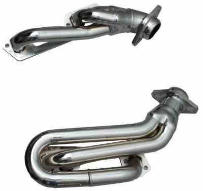 Gibson Performance Exhaust - Performance Header, Chrome Plated #GP306