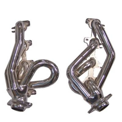 Gibson Performance Exhaust - Performance Header, Chrome Plated #GP308