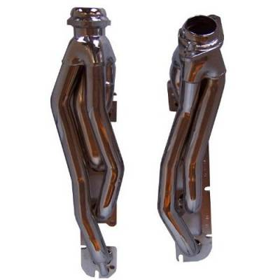 Gibson Performance Exhaust - Performance Header, Chrome Plated #GP310