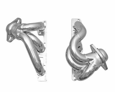 Gibson Performance Exhaust - Jeep Wrangler JK 3.8L Performance Header, Ceramic Coated, #GP403S-C