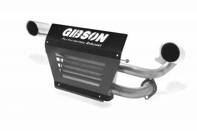 Gibson Performance Exhaust - Polaris UTV Dual Exhaust, Stainless #98021