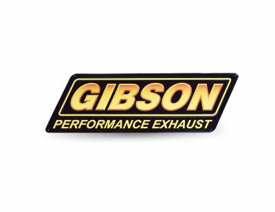 Gibson Metal Logo Sign, #POP-161