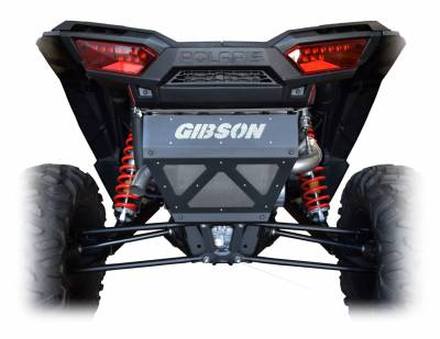Gibson Performance Exhaust - 18-19 Polaris RZR XP1000, Non- Turbo, Single Exhaust Stainless, #98039
