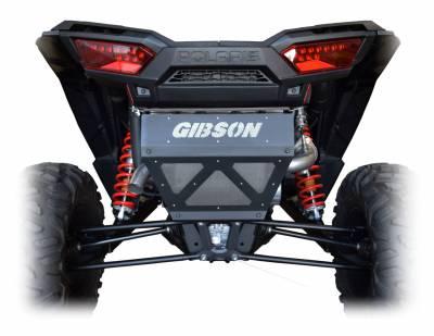 Gibson Performance Exhaust - 18-19 Polaris RZR XP1000, Non- Turbo, Single Exhaust, Stainless, #98039