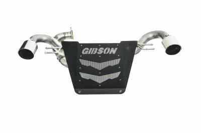 Gibson Performance Exhaust - 19-21 Honda Talon, Dual Exhaust, Stainless, #91000
