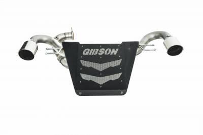 Gibson Performance Exhaust - Honda Talon, Dual Exhaust, Stainless #91000