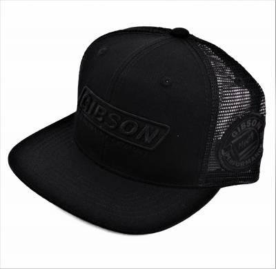 Gibson Performance Exhaust - Gibson Hat, Black Mesh, #HA-802