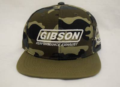 Gibson Performance Exhaust - Gibson Hat, Camo Fitted, #HA-801