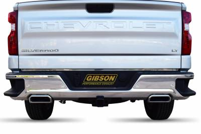 Gibson Performance Exhaust - 19-21 Chevrolet/GMC 1500 Pickup 4.3L,5.3L,Dual Split Exhaust, ,Stainless, #65698