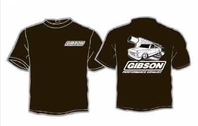 Gibson Performance Exhaust - Gibson USA Classic Truck Black  T-Shirt