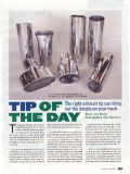 Trucks - Tip of the Day