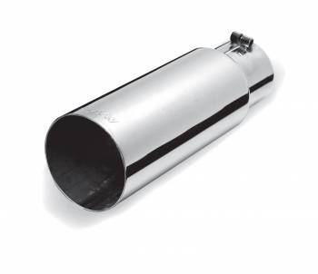 Exhaust Tip - Stainless Steel Tip - Single Wall Straight Tip