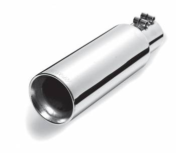 Exhaust Tip - Stainless Steel Tip - Double Walled Straight Tip
