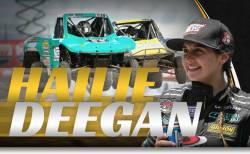 Hailie Deegan Cover