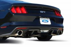 Gibson Performance Exhaust - 15-17 Ford Mustang GT 5.0L, Dual Exhaust  Stainless, #619013 - Image 2