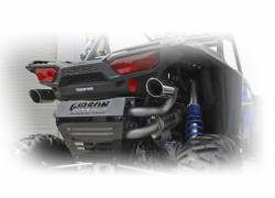Gibson Performance Exhaust - 16-18 Polaris RZR XP Turbo,  Dual Exhaust, Stainless, #98025 - Image 2