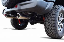 Gibson Performance Exhaust - 18-20 Jeep Wrangler 3.6L, Dual Split Exhaust  Stainless, #617307 - Image 2
