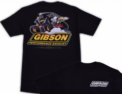 Gibson Performance Exhaust - Gibson T-Shirt, UTV Black - Image 1